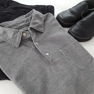 Jos. A. Bank Mens Traveler Short Sleeved Shirt XL